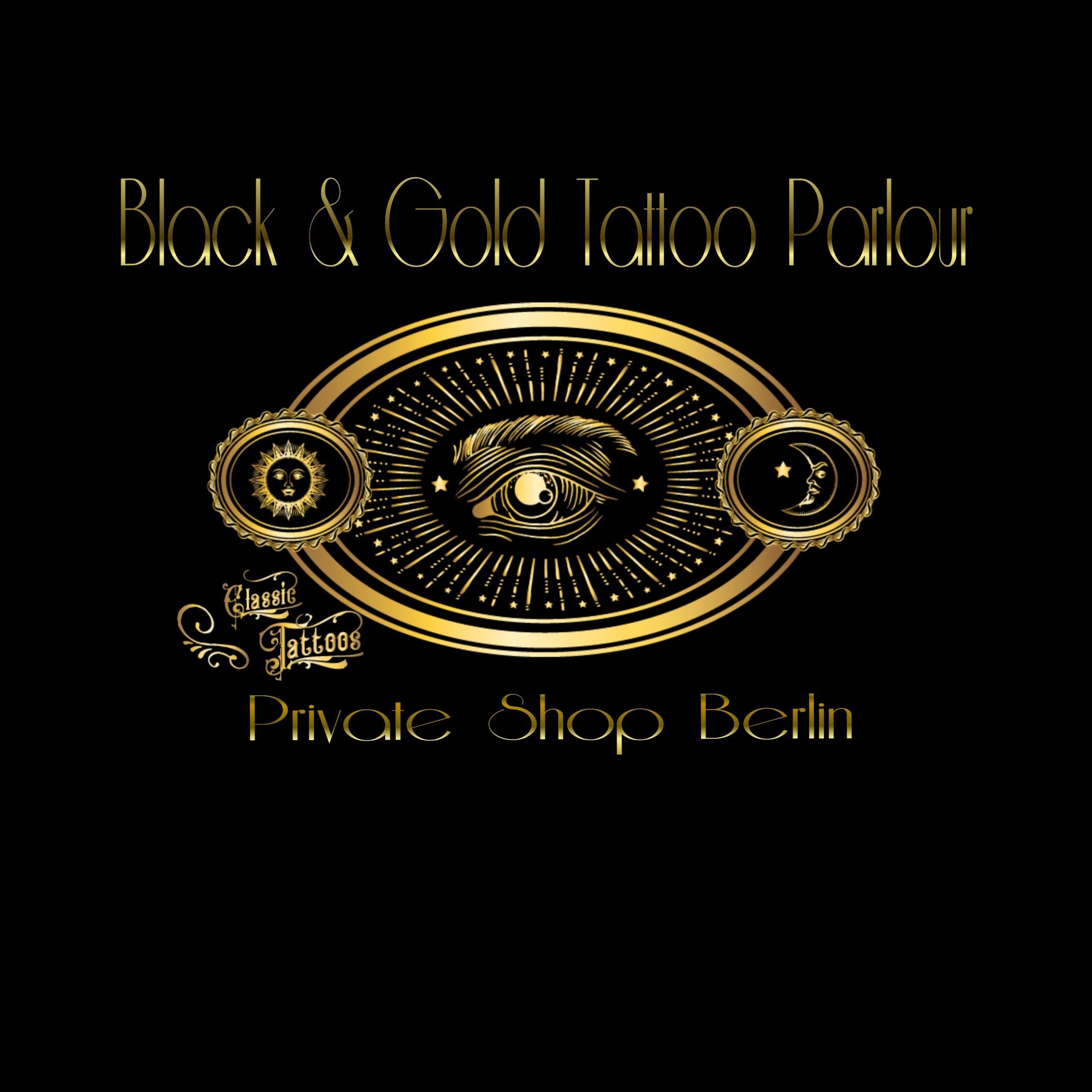 Black&Gold-Tattoo-Parour-Berlin_Logo_classic tattoos