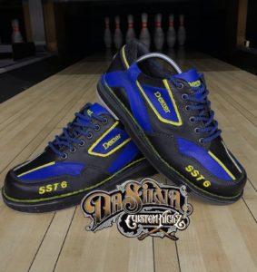 Blue´n´Yellow - Dexter Bowling Shoes @DaSilvaCustomKickz