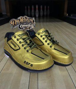 Golden Star - Dexter Bowling Shoes @DaSilvaCustomKickz