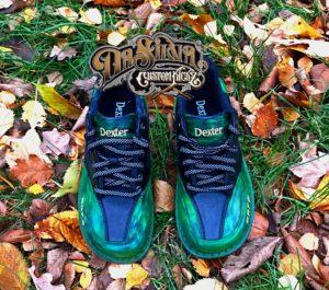 Green Camouflage - Dexter Bowling Shoes @DaSilvaCustomKickz