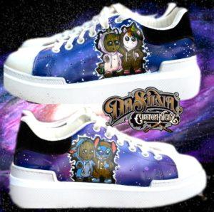 Groot & Friends Outta Space - Kids Sneakers @DaSilvaCustomKickz