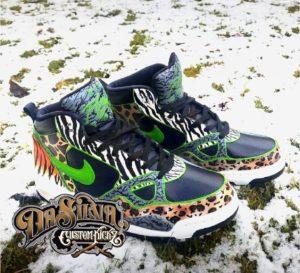Safari - Custom Nikes @DaSilvaCustomKickz