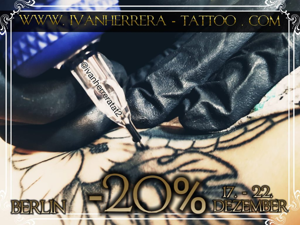 20% off Tattoo Discount Berlin