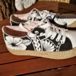 Ivan Herrera Tattoo_Custom Design Sneakers Maoristyle