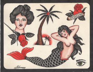 Classic Tattoo Flash Ivan Herrera Tat2