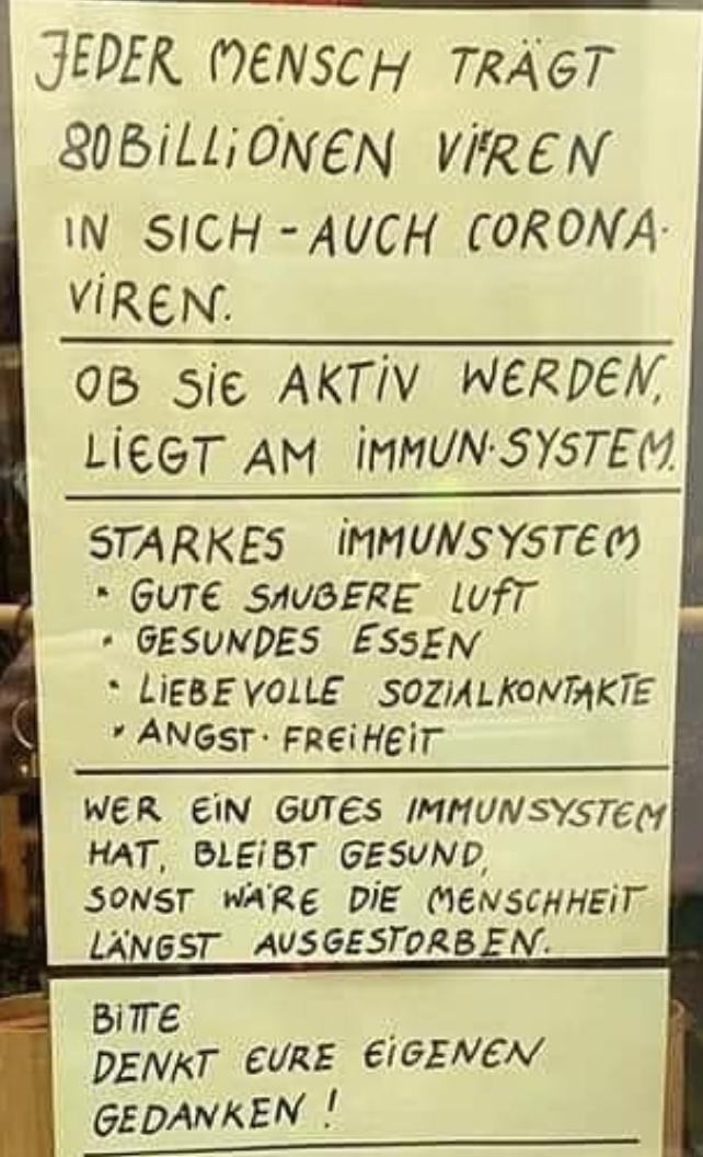 Viren im Körper